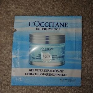 L'Occitane Ultra thrist-quenching Gel Samples